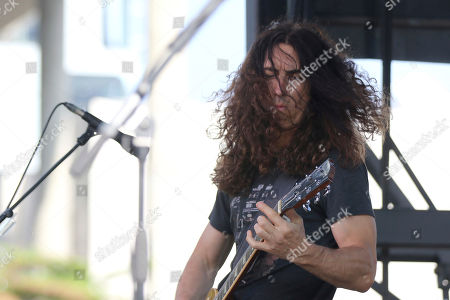 Chevy Metal, Mick Murphy. Mick Murphy of Chevy Metal performs at the Cal Jam 18 Pop-Up Event at the Hollywood Palladium, in Los Angeles