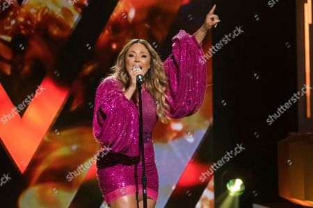 Tamia performs at the Black Girls Rock! Awards at New Jersey Performing Arts Center, in Newark, N.J
