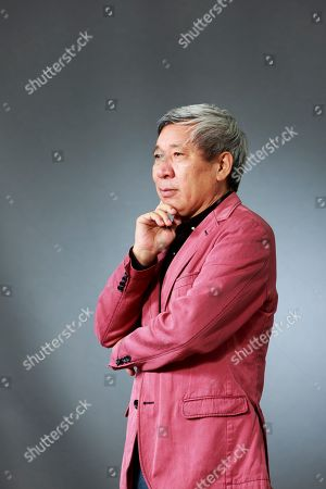 Stock Picture of Yan Lianke. Chinese writer
