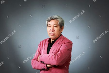 Stock Image of Yan Lianke. Chinese writer