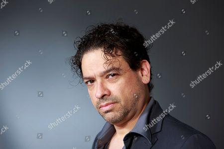 Stock Picture of Sergio de la Pava. American novelist