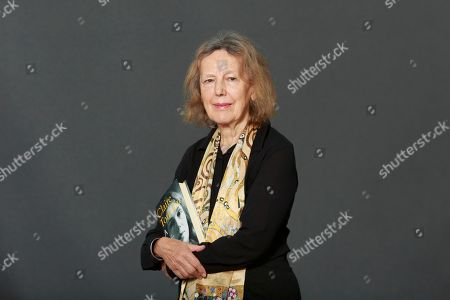 Stock Picture of Claire Tomalin. English author