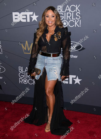Tamia Marilyn Hill attends the Black Girls Rock! Awards at New Jersey Performing Arts Center, in Newark, N.J