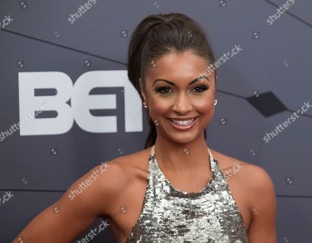 Eboni Williams attends the Black Girls Rock! Awards at New Jersey Performing Arts Center, in Newark, N.J