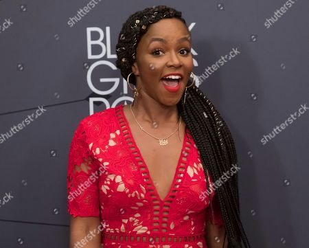 Gia Peppers attends the Black Girls Rock! Awards at New Jersey Performing Arts Center, in Newark, N.J