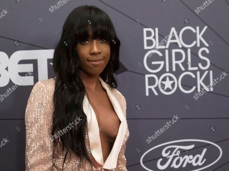 Sevyn Streeter attends the Black Girls Rock! Awards at New Jersey Performing Arts Center, in Newark, N.J