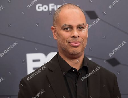 Stock Image of Jesse Collins attends the Black Girls Rock! Awards at New Jersey Performing Arts Center, in Newark, N.J