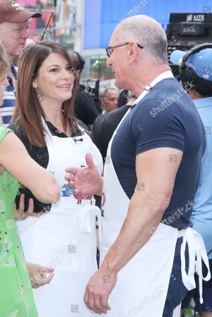 Gail Simmons, Robert Irvine