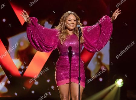 Tamia Marilyn Hill. Tamia performs at the Black Girls Rock! Awards at New Jersey Performing Arts Center, in Newark, N.J