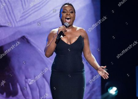 Ledisi Anibade Young. Ledisi performs at the Black Girls Rock! Awards at New Jersey Performing Arts Center, in Newark, N.J