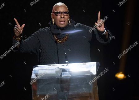 Judith Jamison speaks at the Black Girls Rock! Awards at New Jersey Performing Arts Center, in Newark, N.J