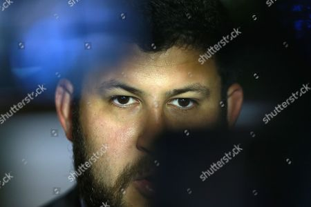 David Smolansky, former mayor El Hatillo in Venezuela), arrives for a meeting with Brazilian Foreign Minister Aloysio Nunes (not pictured)in Brasilia, Brazil, 27 August 2018. Smolansky told Nunes that Latin America should declare a 'regional migration crisis'. The UN says some 2.3 million Venezuelans have fled their country since the economic crisis broke out. Smolansky was dismissed in 2017 and sentenced to prison for his support of the protests against Maduro