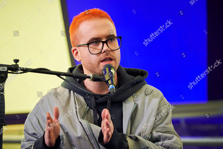 Stock Image of Christopher Wylie at The Media Circus