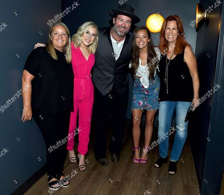 Liz Rose, Madison Marlow, Lee Brice, Taylor Dye and Victoria Shaw