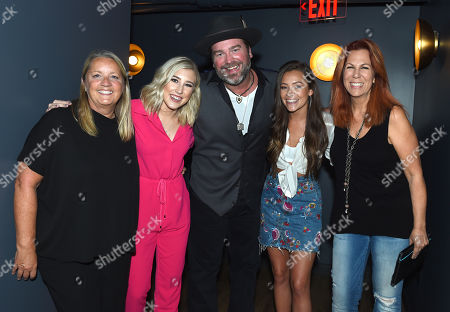 Stock Image of Liz Rose, Madison Marlow, Lee Brice, Taylor Dye and Victoria Shaw