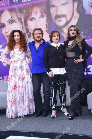 Maria del Sol, Joaquin Galan, Lucia Galan and Lucia Mendez