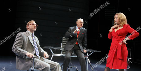 'Enron' - Samuel West (Jeffrey Skilling), Tim Pigott-Smith (Ken Lay), Amanda Drew (Claudia Roe)