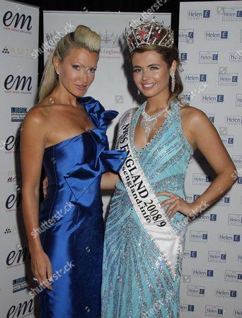 Caprice and Laura Coleman last year's winner