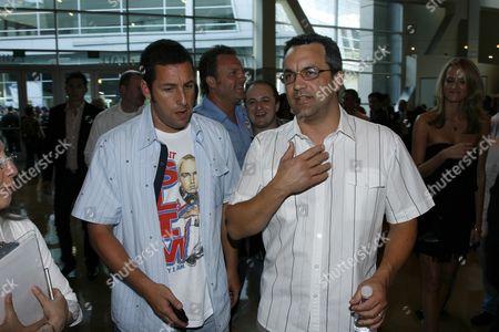 Adam Sandler and Executive Producer Jack Giarraputo