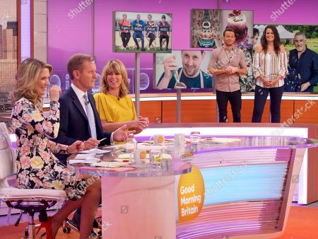 Charlotte Hawkins, Jeremy Kyle, Kate Garraway, Joe Swash and Sophie Faldo