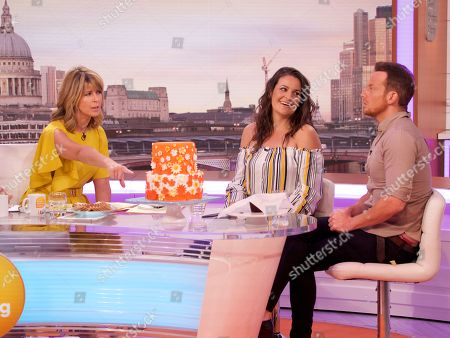 Kate Garraway, Sophie Faldo and Joe Swash