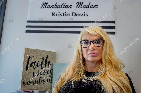 Editorial picture of Manhattan Madam Kristin Davis opens nail salon, New York, USA - 24 Aug 2018