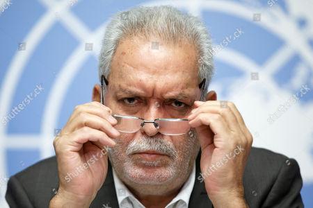 Editorial photo of UN report on the conflict in Yemen, Geneva, Switzerland - 28 Aug 2018