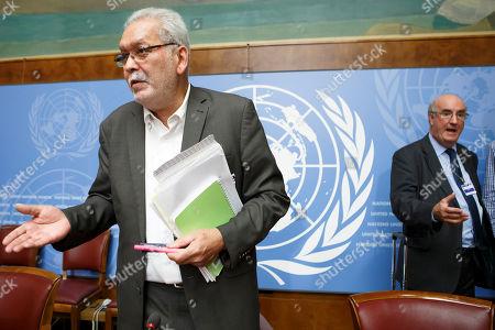 Editorial image of UN report on the conflict in Yemen, Geneva, Switzerland - 28 Aug 2018