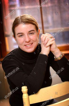 Stock Picture of Journalist Rebecca White