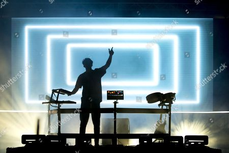 Stock Photo of Petit Biscuit performing