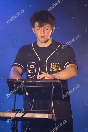 Stock Image of Petit Biscuit performing
