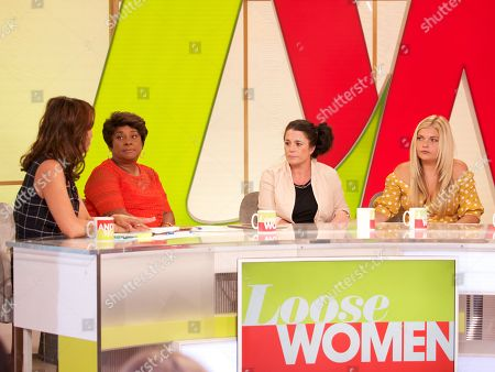 Andrea McLean, Doreen Lawrence Jenny and Donna Taylor