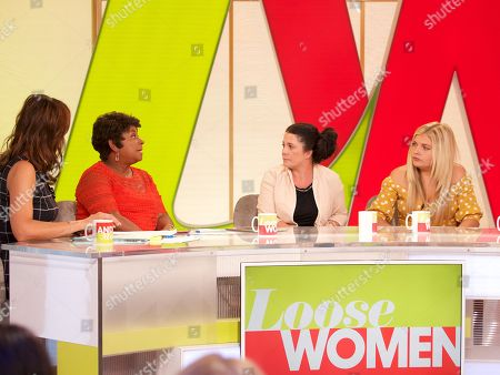 Andrea McLean, Doreen Lawrence, Jenny and Donna Taylor