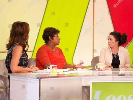 Andrea McLean, Doreen Lawrence and Jenny Taylor