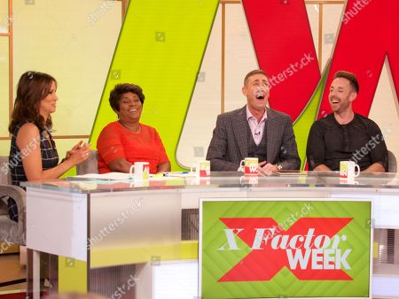 Andrea McLean, Doreen Lawrence, Christopher Maloney and Stevi Ritchie