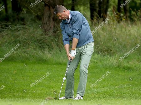 Pictured at the PREM Group Irish Masters Pro Am at the stunning Tulfarris Hotel & Golf Resort, Blessington, Co Wicklow, is Niall Quinn. The PREM Group Irish Masters is the penultimate tournament on the EuroPro Tour and takes place at Tulfarris Hotel & Golf Resort from Wednesday August 29th-Friday August 31st. Some of the famous names to take part in the Pro Am competition were Niall Quinn, Shane Byrne, Stephen Hunt and Martin Delany, and they were led out by Tulfarris Touring Professional Simon Thornton