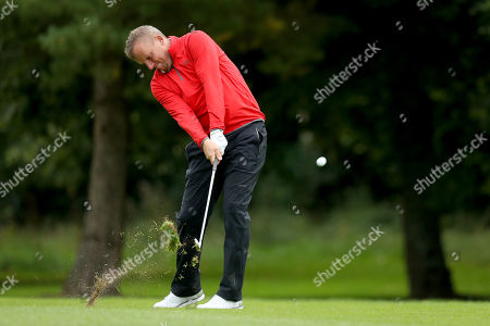 Pictured at the PREM Group Irish Masters Pro Am at the stunning Tulfarris Hotel & Golf Resort, Blessington, Co Wicklow, is Mark Young. The PREM Group Irish Masters is the penultimate tournament on the EuroPro Tour and takes place at Tulfarris Hotel & Golf Resort from Wednesday August 29th-Friday August 31st. Some of the famous names to take part in the Pro Am competition were Niall Quinn, Shane Byrne, Stephen Hunt and Martin Delany, and they were led out by Tulfarris Touring Professional Simon Thornton