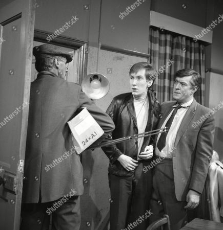 Glenn Melvyn (as Photographer), Christopher Sandford (as Walter Potts) and Ivan Beavis (as Harry Hewitt)