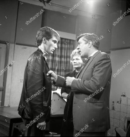 Christopher Sandford (as Walter Potts), Doreen Keogh (as Concepta Hewitt) and Ivan Beavis (as Harry Hewitt)