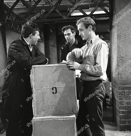 Philip Lowrie (as Dennis Tanner), Reginald Jessup (as Mick O'Connell) and Kenneth Colley (as Lionel)