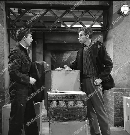 Stock Picture of Philip Lowrie (as Dennis Tanner) and Reginald Jessup (as Mick O'Connell)
