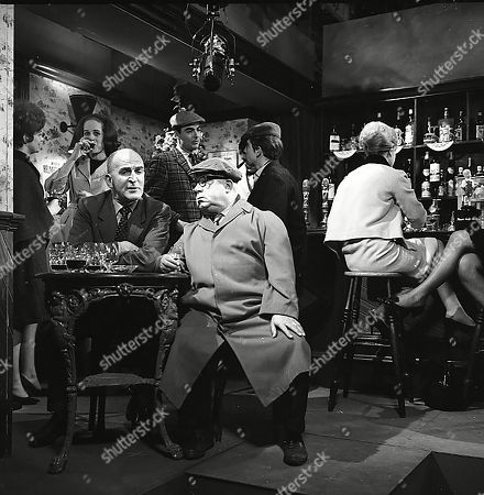 Jerrold Wells (as Ted Ashley), Alan Bailey (as 1st Man), Jack Howarth (as Albert Tatlock), Paul Bacchus (as 2nd Man) and Athene Fielding as 1st Girl