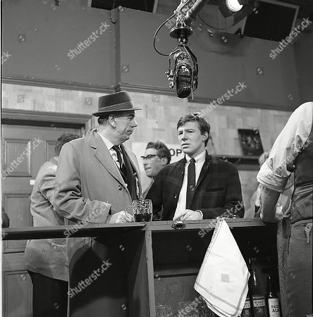 Alister Williamson (as Gus Lowman) and Philip Lowrie (as Dennis Tanner)