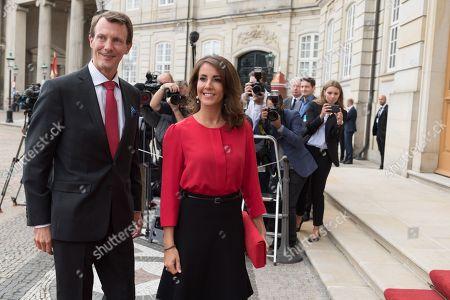 HHR Princess Marie of Denmark and HHR Prince Joachim of Denmark