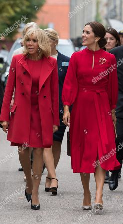 Brigitte Trogneux and Crown Princess Mary