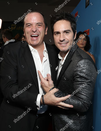 Director Pitipol Ybarra and Mauricio Ochmann