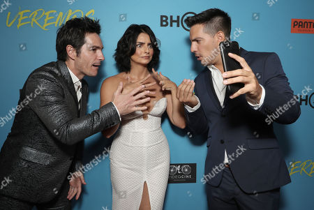Mauricio Ochmann, Aislinn Derbez and Vadhir Derbez