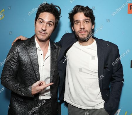 Mauricio Ochmann and Writer Alberto Bremer