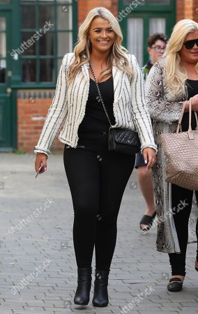 Editorial picture of 'The Only Way is Essex' TV show filming, Brentford, Essex, UK - 28 Aug 2018
