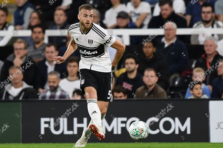 Calum Chambers of Fulham in action